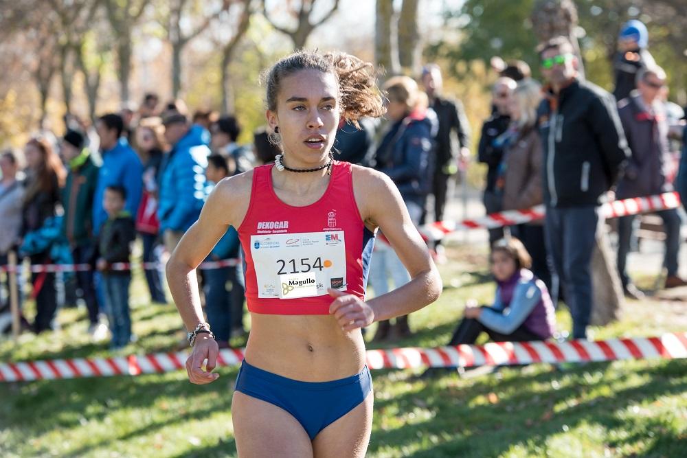 La atleta segoviana Idaira Prieto estará con España en el Europeo de campo a través