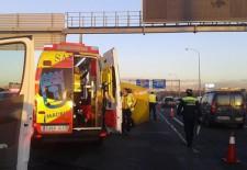 Fallece un motorista segoviano en un accidente de tráfico en Madrid