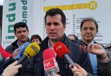 El alcalde de Valverde del Majano pide a las instituciones la instalación de fibra óptica en el Polígono «Nicomedes García»