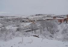 Alerta por nieve en Segovia hasta la medianoche