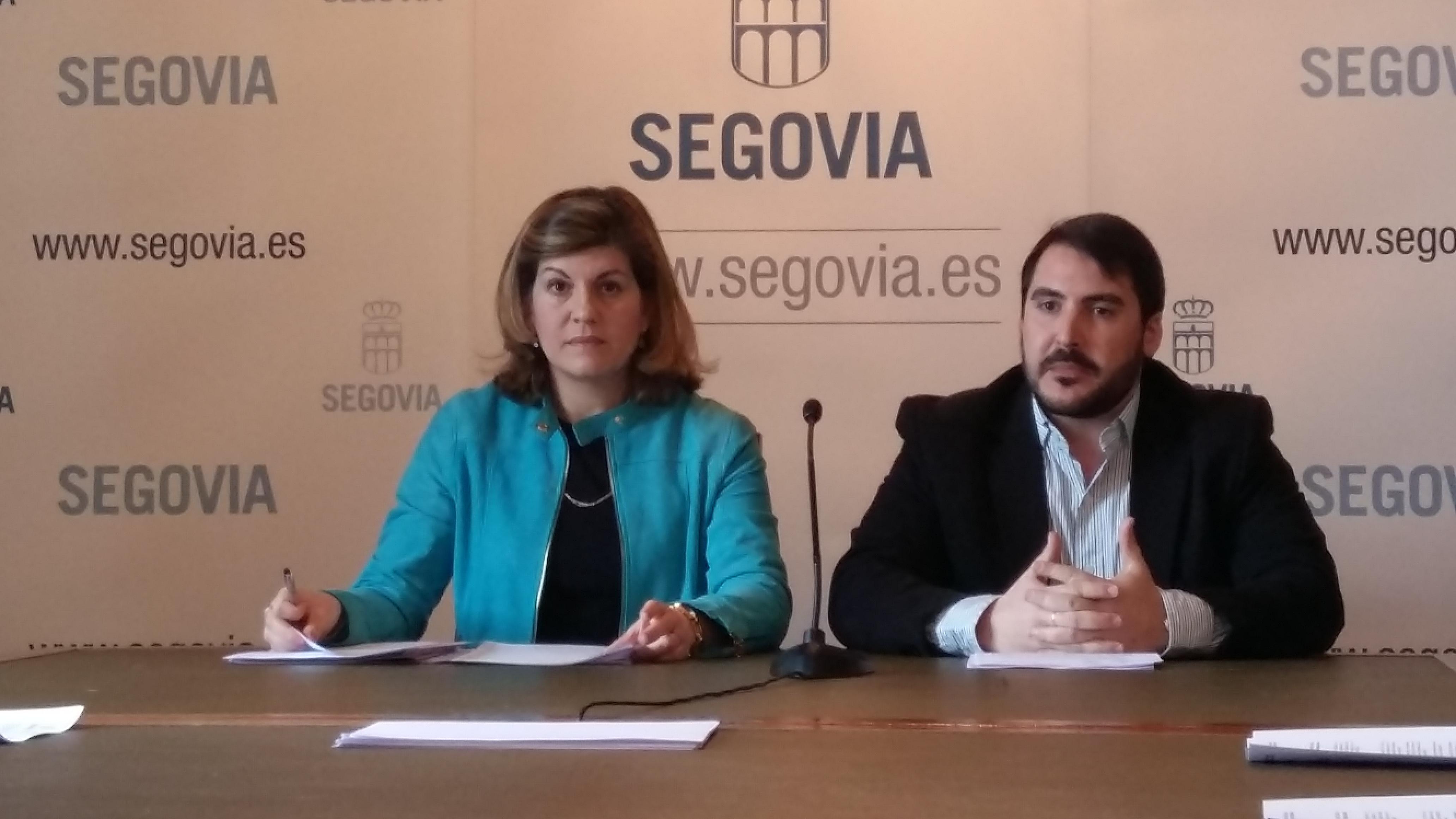 Azucena Suárez y Darío Reques, concejales del GMP