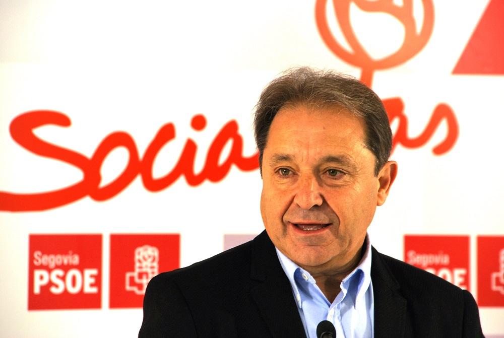 El PSOE de Segovia reafirma su confianza en Gordo para que actúe en el Comité Federal