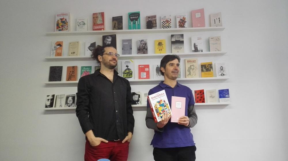 La editorial segoviana La Uña Rota celebra unos encuentros en torno al libro en San Nicolás