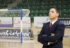 Segovia futsal renueva una temporada más al técnico Diego Gacimartín