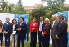 María Dolores de Cospedal respalda las candidaturas del PP de Segovia a las elecciones del 26-J