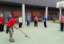 Los usuarios de Fundación Personas practican deporte adaptado
