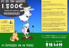 San Cristóbal fomenta su fiesta en Cantalejo con 'El brengo de la vaca'