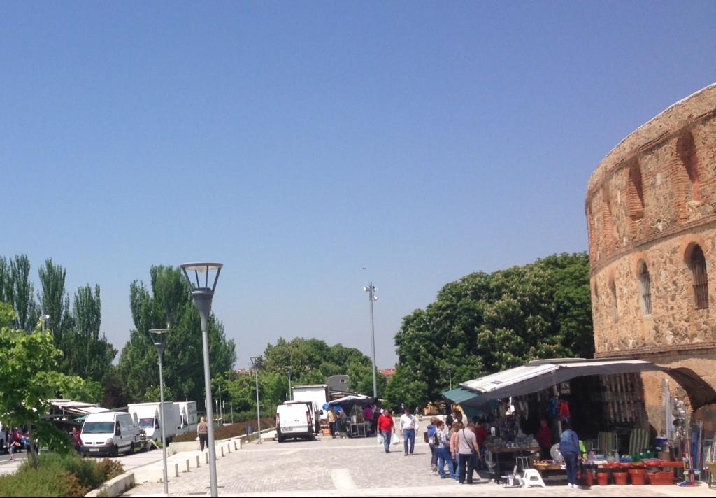 El mercado de los sábados volverá a la Plaza de Carrasco el 17 de diciembre