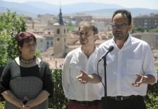 Antonio Hernando pide en Segovia que los votantes cesen a Rajoy en las urnas