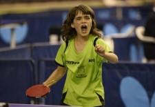 Ángela Rodríguez García logra el título nacional de tenis de mesa benjamín