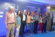 Juan Vicente Herrera protagoniza el acto central de la campaña del PP de Segovia