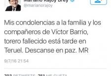 Conmoción en la redes con la muerte de Víctor Barrio