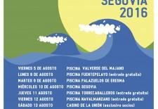 Cadena Dial Segovia animará las piscinas de la provincia en su gira 2016