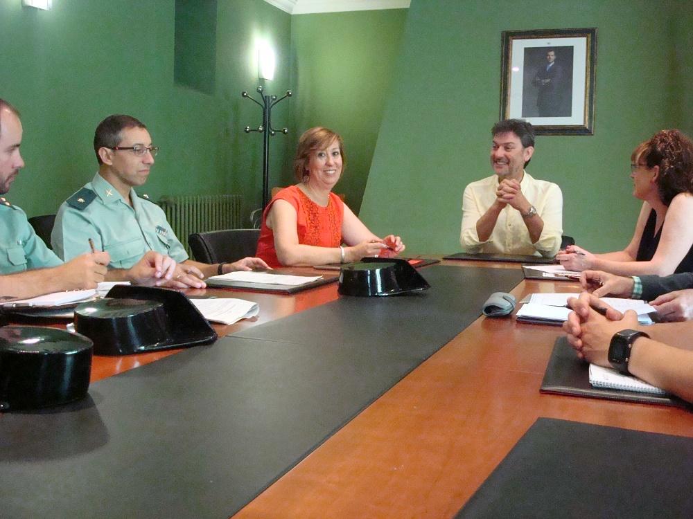 2016-08-06 JUNTA SEGURIDAD FIESTAS GRANJA