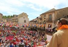 Sepúlveda inicia sus fiestas con Víctor Barrio en la memoria