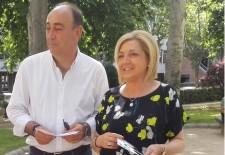 Miguel Ángel de Vicente y Paloma Sanz