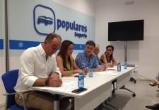 El presidente del PP de Segovia señala que nos encontramos en el escenario de unas terceras elecciones