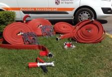 La Diputación dota de material de extinción de incendios a 33 municipios