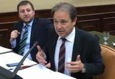 Juan Luis Gordo, secretario segundo de la Comisión de Reglamento y vocal de la de Fomento del Congreso