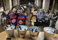 Nuevo éxito de la cata gimnástica de cervezas San Frutos