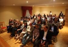 El PP continúa sus reuniones en Juarros de Voltoya
