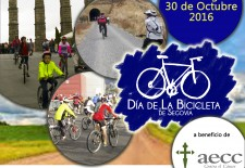 RADIO SEGOVIA organiza el 3º Dia de la Bicicleta de Segovia a beneficio de AECC