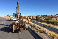 La Diputación invierte cerca de cincuenta mil euros en barreras de seguridad en carreteras