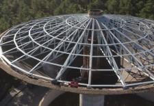 Cantalejo repara la cubierta del depósito de agua