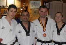 Juan Alberto Gómez entre los 300 mejores artistas marciales del mundo