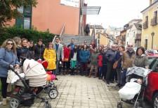Cien familias de La Granja demandan un servicio pediátrico digno