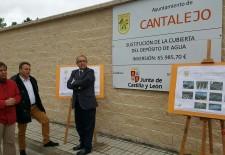 Finalizadas las obras del deposito de agua de Cantalejo