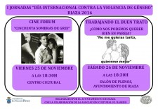 Ayllón y Riaza celebran actos contra la violencia de género