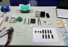 La Policía desmantela un importante punto de venta de droga en San Millán