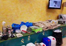 La Guardia Civil de Segovia desarticula una red de tráfico de drogas en España